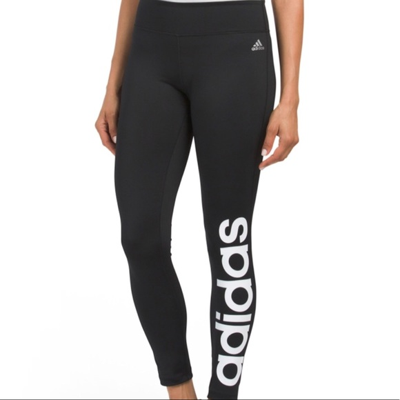 701e3a29883 adidas Pants | Climalite Mix Fab Tigh Womens Leggings | Poshmark